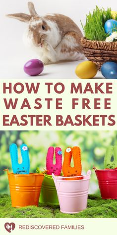 Do you want Easter basket ideas for kids that do not include a ton of waste? We've got over 50 ideas for zero-waste gifts that your kids will love.