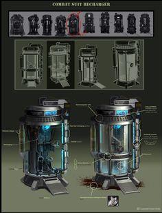 ArtStation - Crysis 2, Dan Ghiordanescu