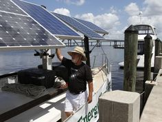 Solar-powered boat cruises to raise energy awareness