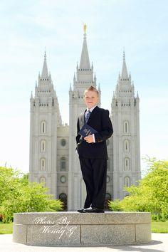 baptism portrait / LDS baptism photo idea / Photos By Wendy G.