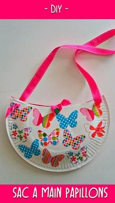 Pâque Paper Plate Crafts, Paper Plates, Preschool Crafts, Crafts For Kids, Games For Kids, Activities For Kids, Diy Sac, Toy Craft, Diy Paper