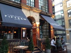 Jamie Oliver's Fifteen in Hoxton, Greater London