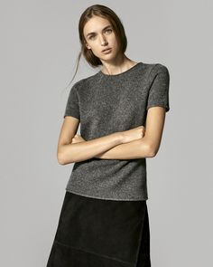 Theory FW15 | Soft statements, classic knits and modern layers for women.