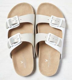 Platinum AEO Double Strap Sandal