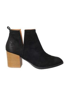 0f58b0698bcd3c Black Suede Ankle Boots – No Rest For Bridget