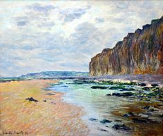 Claude Monet - Varengeville Low Tide, 1882