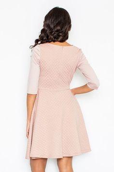 Rochie de zi roz - 142 Lei -  Fabricat in Europa -     Comanda acum!  #divashopromania #divashop #rochii #rochiidezi #rochiioffice #fashion #fashionista #fashionable #fashionaddict #styleoftheday #styleblogger #stylish #style #instafashion #lifestyle #loveit #summer #americanstyle #ootd #ootdmagazine #outfit #trendy #trends #womensfashion #streetstyle #streetwear #streetfashion #shopping #outfitoftheday #outfitinspiration #ootdshare #trendalert #boutique #haine #romania # Blogger Style, Fashion Addict, Outfit Of The Day, Diva, Street Wear, Cold Shoulder Dress, Dresses For Work, Street Style, Boutique