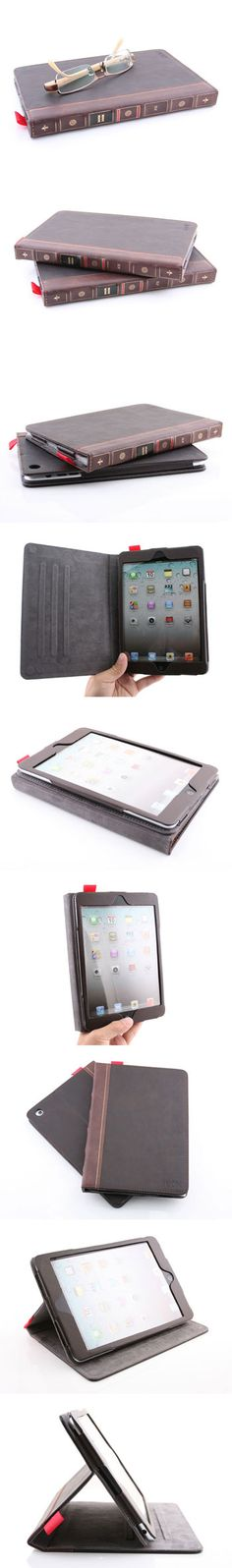 Old-world Book Case for iPad mini  http://www.usbgeek.com/products/book-case-for-ipad-mini