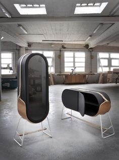 Hold Cabinets and Up Coffee Table by Gauthier Poulain