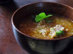 Pork and Quinoa Stew ;: no jalapenos though 😫
