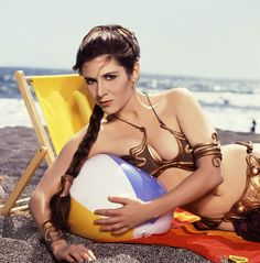 This Is How The Controversial Princess Leia Bikini Craze Started