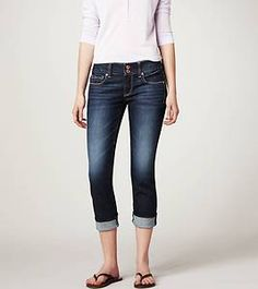 All time favorite clothing item! Cropped Jeans <3
