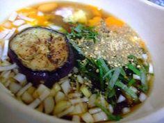 ナスうどん(蕎麦、素麺)