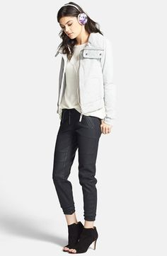 Kiind Of Faux Leather Jogger Skinny Pants $35.20 sale | Nordstrom