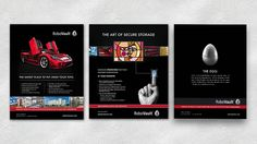 Magazine Ad Design for Client RoboVault