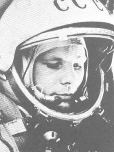 The Soviet Union's Yuri Gargarin is the first man in space in 1961.