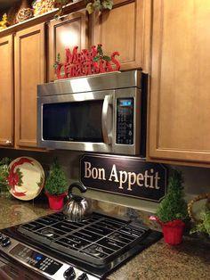 Savvy Seasons by Liz: Kitchen Holiday Tour