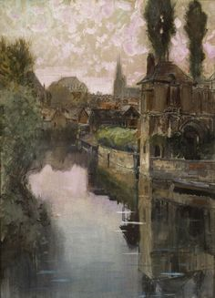 View of Chartres - Francis Hopkinson Smith