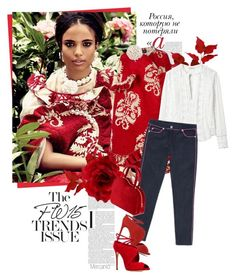 """""""CAPE TRANSITION by Epicurean"""" by mercanici ❤ liked on Polyvore featuring Paolo, Simone Rocha, Rebecca Taylor, Moschino, Accessorize, Casadei, cape, simonerocha, tapestry and summertofall"""