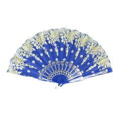 1PC Portable  Pocket Fan Hand fan Small Fan Folding Cloth Fan Foldable fa K7T