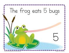 Frog Counting Book: Interactive Counting Book for Preschoo