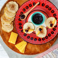 A New Twist on the Ol' Fruit-and-Cheese Plate  It's inevitable that you'll be hosting your share of parties this summer. To make them a success, we're redefining the perfect party companion: the cheese plate.
