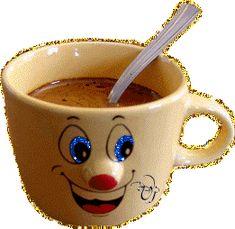 Good Morning Coffee Gif, Good Morning Arabic, Good Morning Picture, Good Morning Good Night, Good Morning Quotes, Love Smiley, Emoji Love, Coffee Theme, Coffee Love