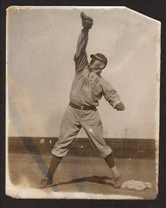 1905 Nick Williams Of The San Francisco Seals Covering The Bag.