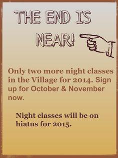 Night Classes 2014