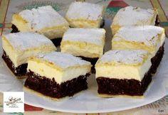 A világ legfinomabb túrós sütije, mire megiszod a kávéd, meg is sül! Hungarian Desserts, Hungarian Recipes, Baking Recipes, Cake Recipes, Dessert Recipes, Sweet Desserts, Healthy Desserts, Pan Integral, Sweet Pastries