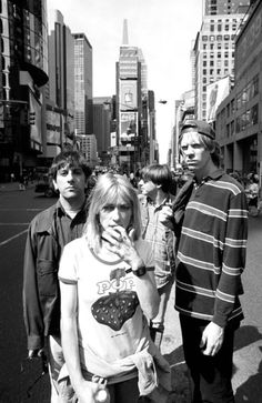 Sonic Youth, another iconic band. Some call them the original hipsters