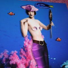 Pirate Mermaid, A4 matt print £7.00