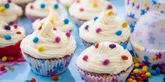 Mini spiced cupcakes