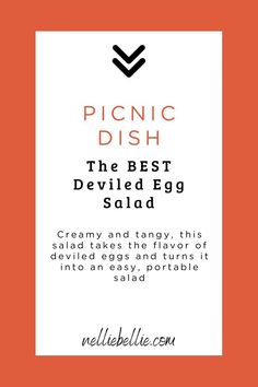 Take the yumminess of deviled eggs and turn it into a salad that is easy to serve, transport, and eat. The delicious tangy flavor, creaminess, and spices of a deviled egg in a picnic friendly salad! Deviled Egg Salad, Egg Slicer, Cauliflower Potatoes, Hard Boiled, How To Make Salad, Family Love, Picnic, Stuffed Peppers, Dishes