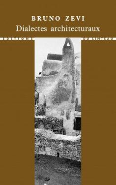 Dialectes architecturaux - Bruno Zevi Architecture, Movie Posters, Audio Engineer, Landscape Planner, Arquitetura, Film Poster, Architecture Design, Billboard, Film Posters
