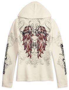 harley davidson tattoos for women | Holiday Gift Idea - Harley-Davidson Women's Pullover