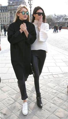 Buds Gigi Hadid & Kendall Jenner