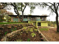 Mid Century Modern house in Austin