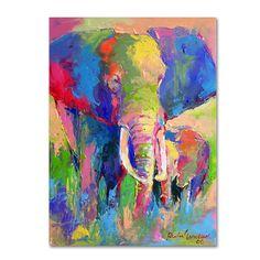 <li>Artist: Richard Wallich</li> <li>Title: 'Elephant 1'</li> <li>Product type: Giclee, gallery wrapped</li>