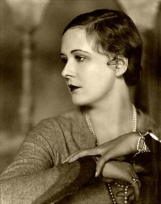 "screengoddess: "" Ziegfeld Follies icon Marilyn Miller 1928 - Photo by Nickolas Muray """