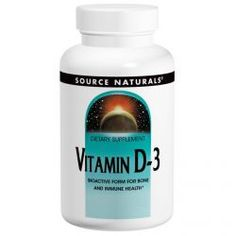 Source Naturals, Vitamin D-3, 2000 Iu, 200 Capsules, Diet Suplements 蛇