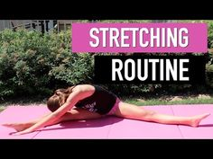 Maggie's Stretching Routine - YouTube