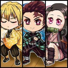 """PELPIN on Instagram: """"-Kimetsu no Yaiba- Chibi Nezuko, Monjiro..? Monitsu..? ( ̄∇ ̄') . . #tanjiroukamado #zenitsuagatsuma #nezukokamado #kimetsunoyaiba…"""" Chibi, Fanart, Anime, Instagram, Fan Art, Cartoon Movies, Anime Music, Anime Shows"""