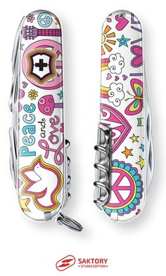 Peace And Love Swiss Army Knife: Saktory Studio Edition