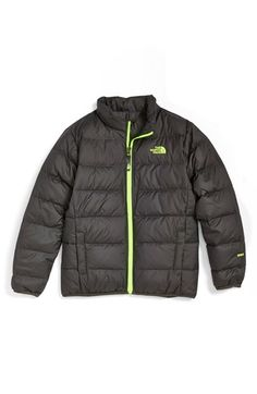 1f92d76bc3 The North Face  Andes  Water Repellent 550-Fill Compressible Power Down  Jacket (Big Boys)