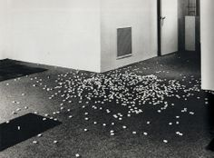 Carl Andre, Spill, 1966