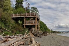 The beach at Marine View Park. One of Seattle's best kept secrets.
