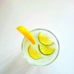 Orzeźwiająca woda cytrynowo - limonkowa