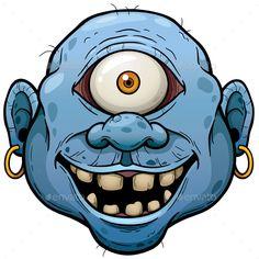 Buy Monster by SARAROOM on GraphicRiver. Vector illustration of Cartoon Monster face Cartoon Cartoon, Zombie Cartoon, Cartoon Monsters, Cartoon Drawings, Monster Drawing, Monster Face, Graffiti Drawing, Graffiti Lettering, Desenho New School