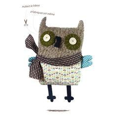 Owl hubert - www.corifeo.be